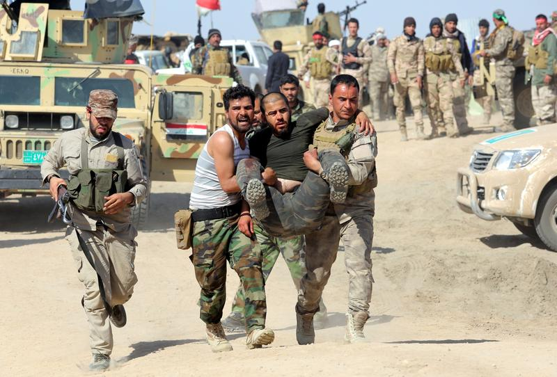 Iraqi Military Moves to Reclaim City from ISIS | The
