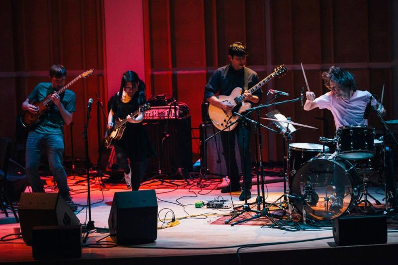 Deerhoof Live from Ecstatic Music Festival on February 20, 2013