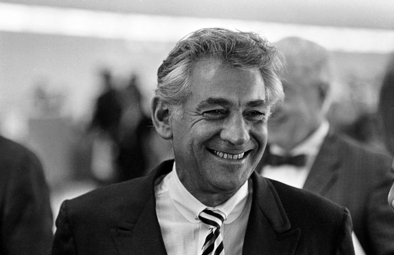 Leonard Bernstein in 1967