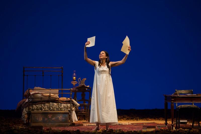 "Ana María Martínez as Tatiana in Tchaikovsky's ""Eugene Onegin"""