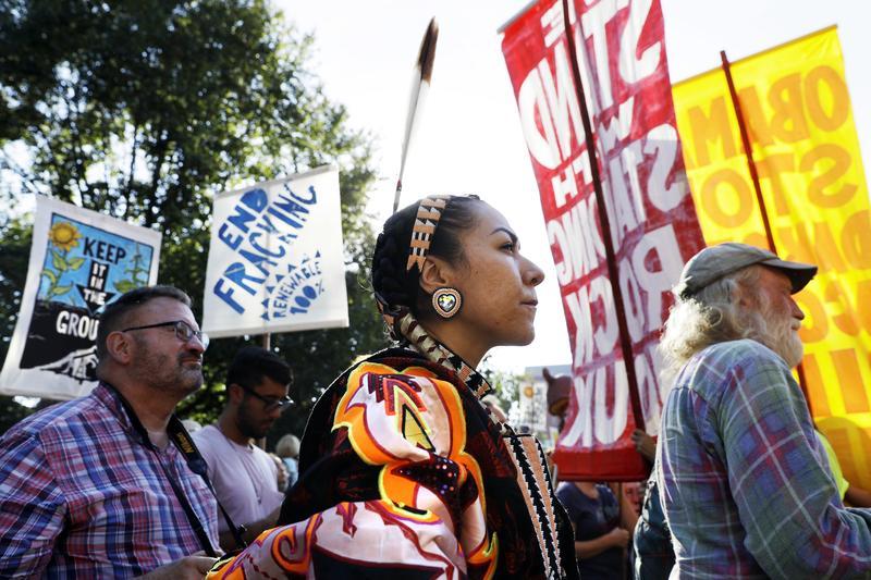 Native Americans Unite to Fight Dakota Access Pipeline   The