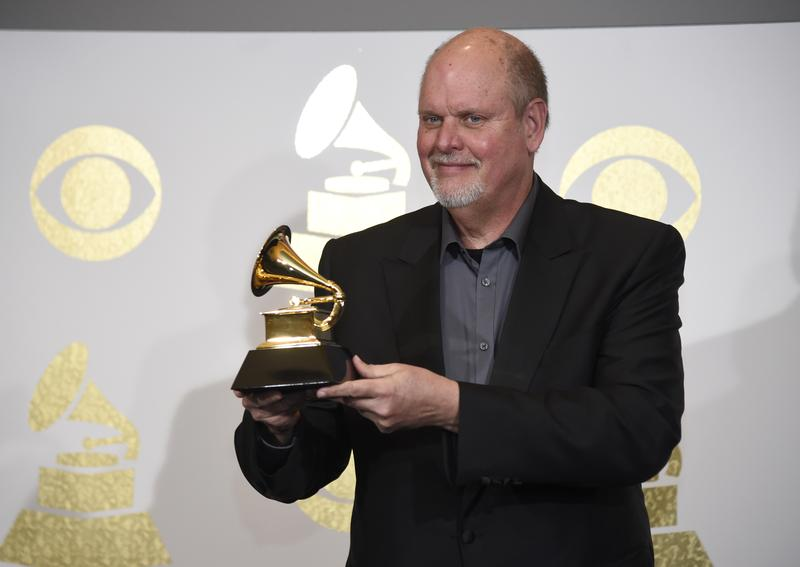 "Michael Daugherty wins the award for best contemporary classical composition for ""Daugherty: Tales of Hemingway"" at the 59th annual Grammy Awards"