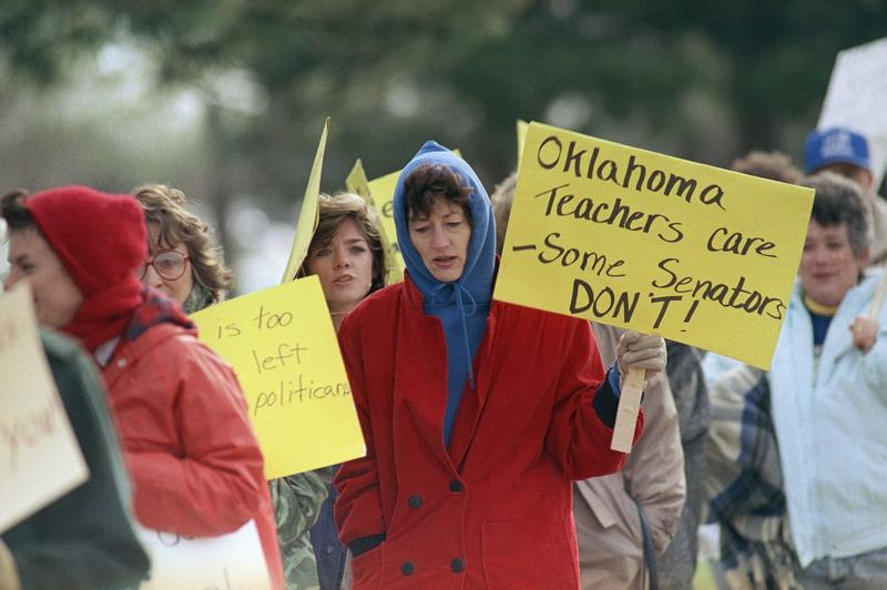 what can the oklahoma teachers strike of 1990 teach us about