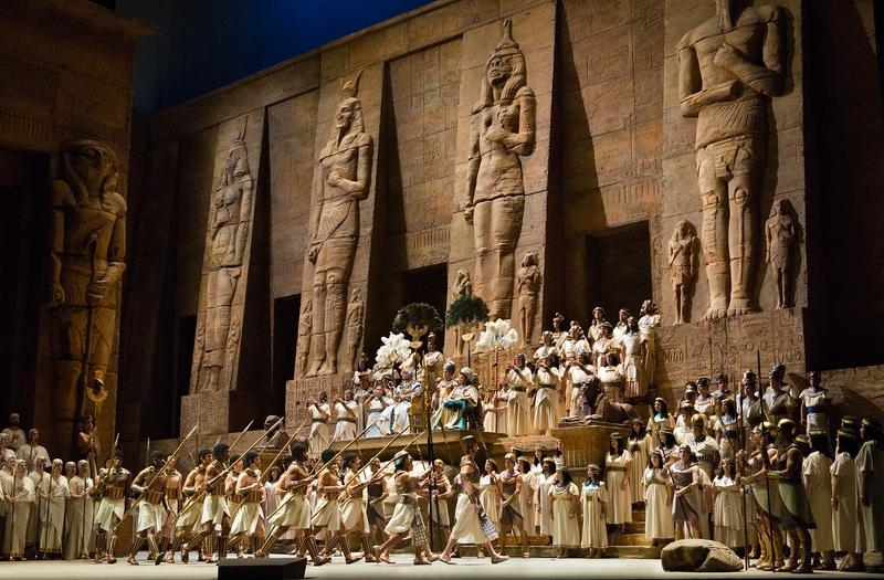 "A Scene from Verdi's ""Aida"""