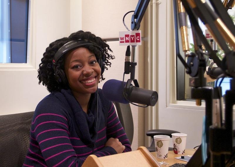 Alicia Olatuja of the Brooklyn Tabernacle Choir.