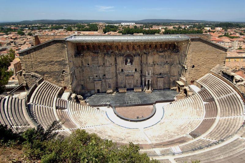 Théâtre antique d'Orange in southern France.