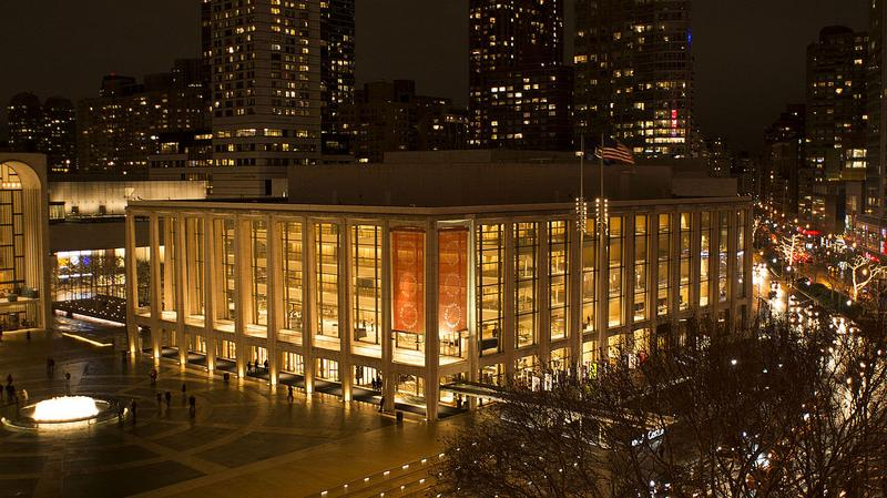David Geffen Hall, home of the New York Philharmonic.