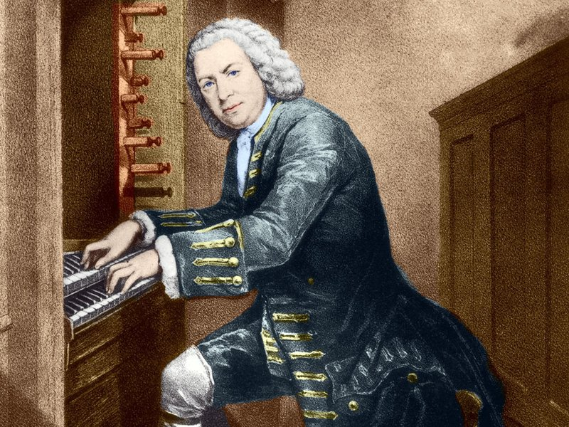 Bach at the keyboard