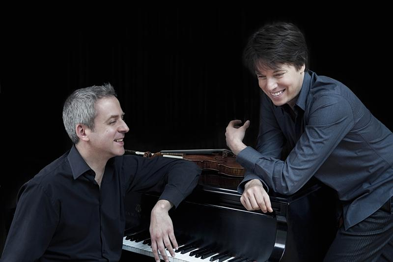 Pianist Jeremy Denk and violinist Joshua Bell