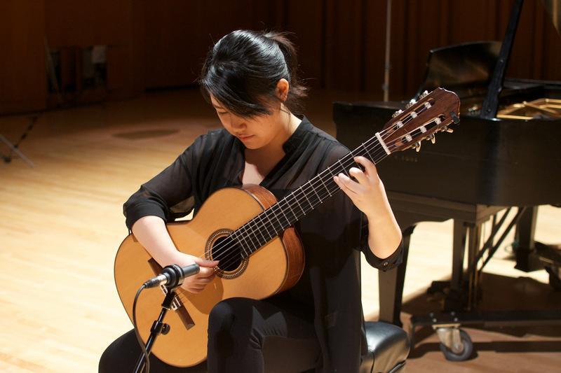 Guitarist Bokyung Byun.
