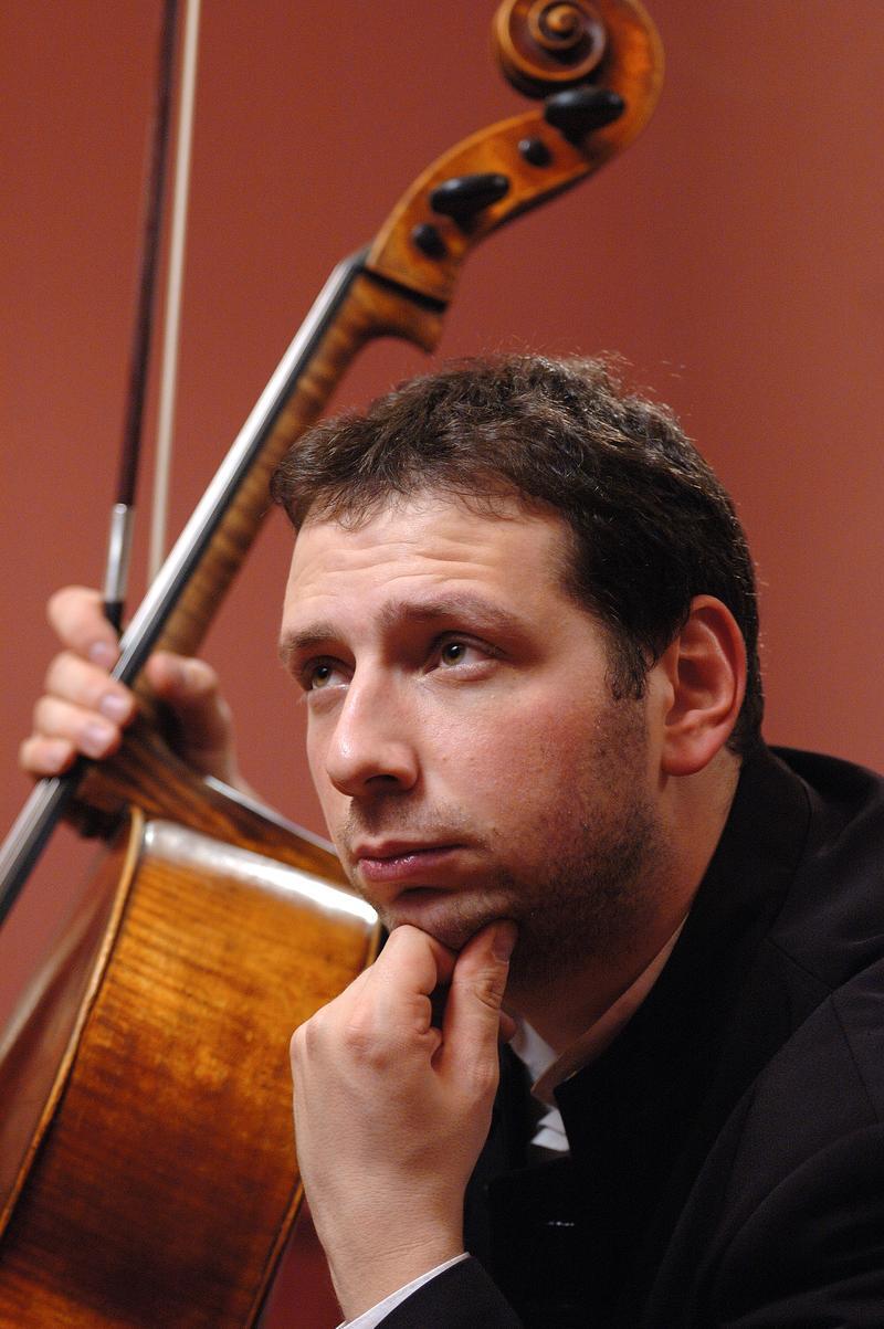 Cellist Boris Andrianov.