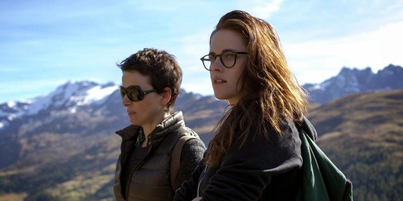 """Juliette Binoche and Kristen Stewart star in """"The Clouds of Sils Maria."""""""