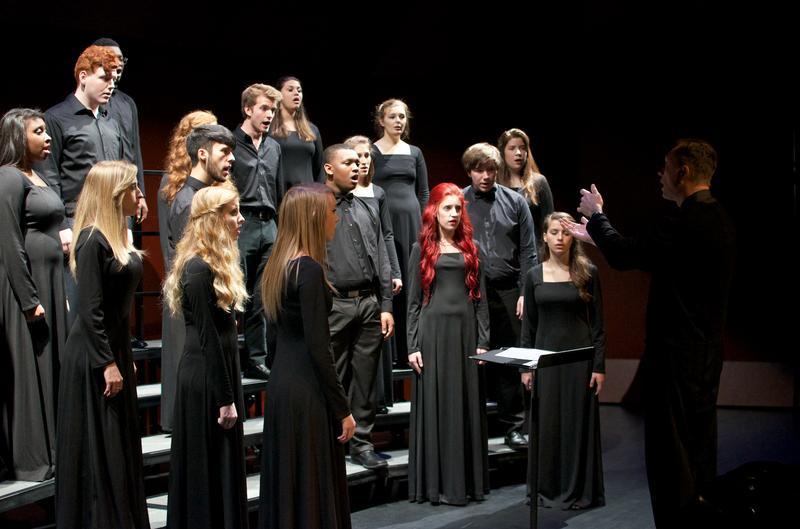 The Cantus Chamber Choir.