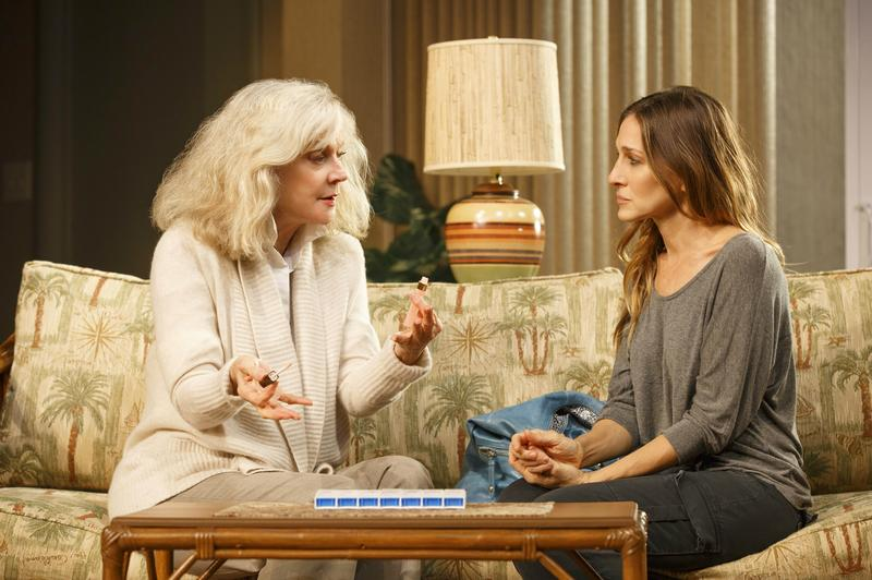 Blythe Danner and Sarah Jessica Parker in Amanda Peet's 'The Commons of Pensacola.'
