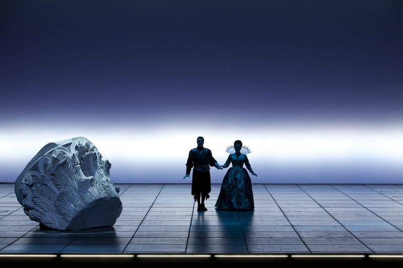 Monteverdi's 'The Coronation of Poppea' at the Palais Garnier opera house in Paris.
