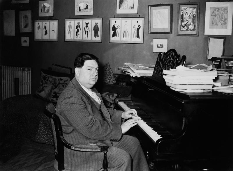 French composer Darius Milhaud in February 1938.