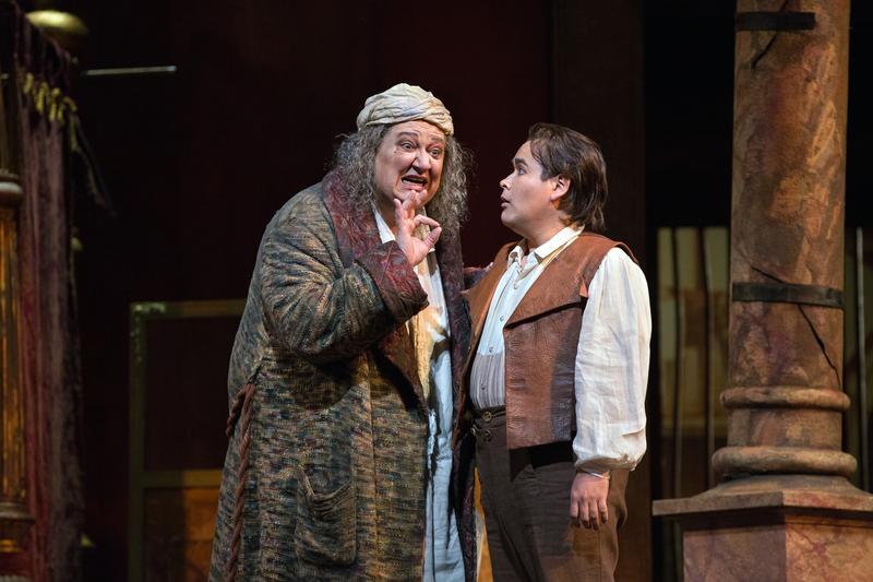 Ambrogio Maestri and Javier Camarena star in 'Don Pasquale.'