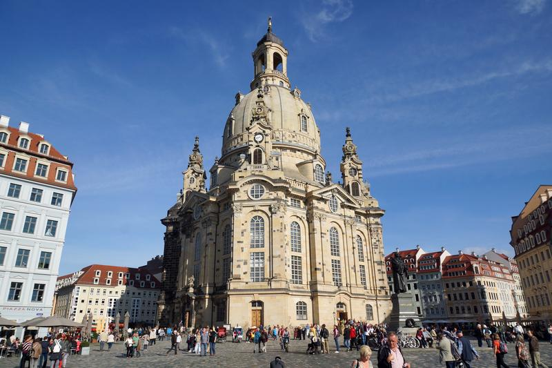 Fred Plotkin attended a performance at Dresden's Frauenkirche on his visit to the city.