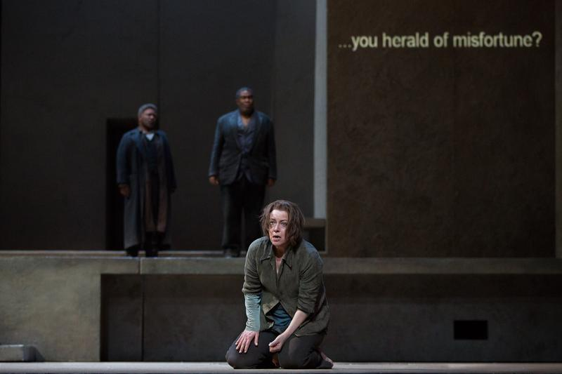 Nina Stemme stars in the Met's production of 'Elektra.'