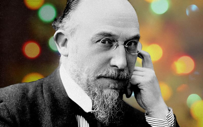 Composer Erik Satie was born May 17, 1866 in Honfleur, France