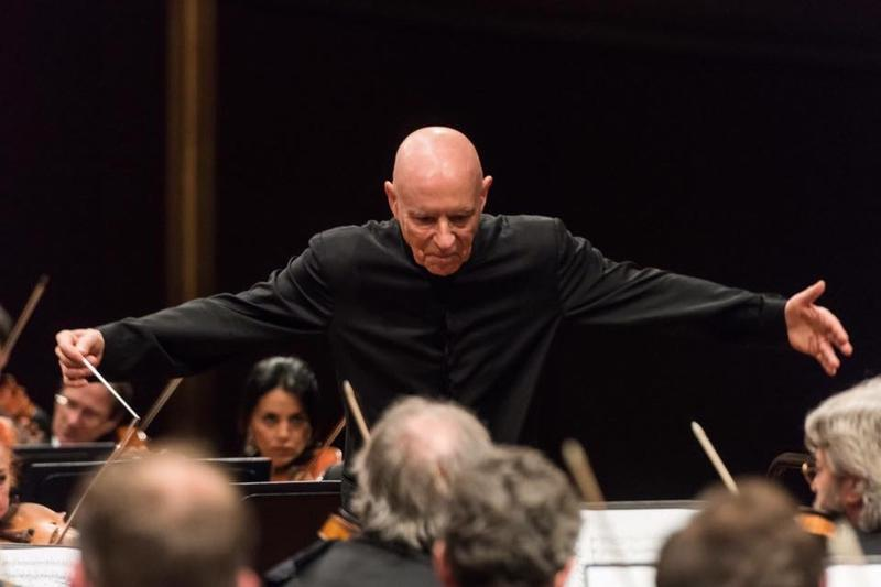 Christoph Eschenbach conducts.