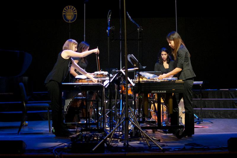 The Excelsis Percussion Quartet.