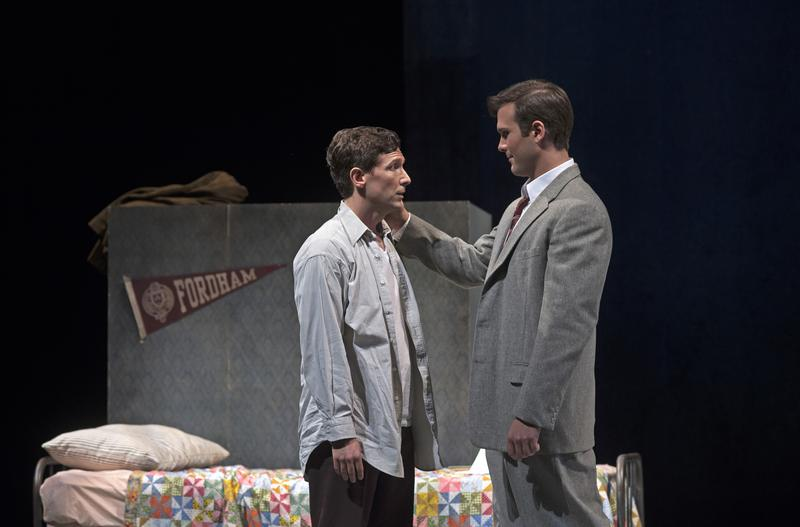 Timothy Laughlin (Aaron Blake) and Hawkins Fuller (Joseph Lattanzi) in a scene from 'Fellow Travelers' at Cincinnati Opera.