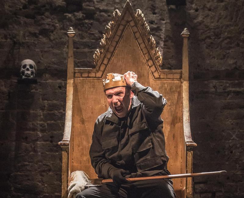"Ralph Fiennes stars in ""Richard III"" at the Almeida Theatre in London."
