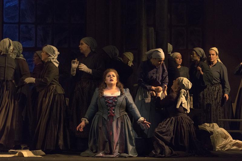 Amber Wagner as Senta in Wagner's 'Der Fliegende Holländer.'