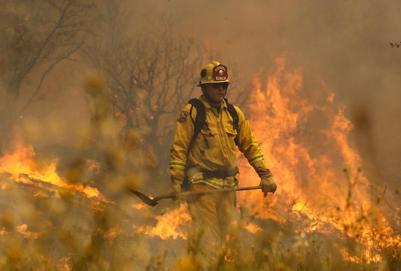 Active-Duty Soldiers Fighting Fires, Not Wars | The Takeaway | WNYC