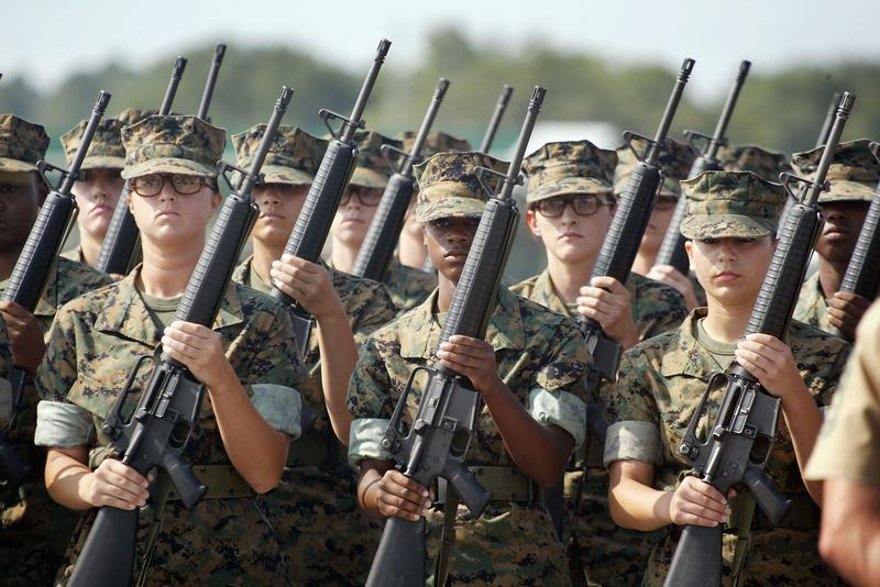 women and the military prepare for combat the takeaway wnyc studios