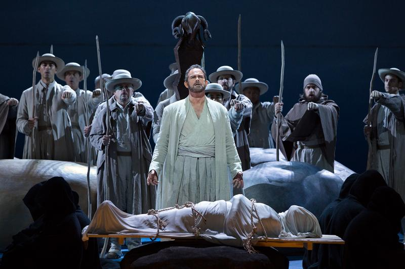 "Gerald Finley in the title role of Rossini's ""Guillaume Tell."""