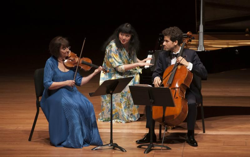 Ani Kavafian, Wu Han, and Nicholas Canellakis play Haydn at the Chamber Music Society of Lincoln Center