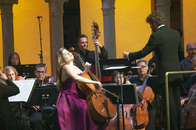 Alisa Weilerstein joins the orchestra as the soloist in Elgar's Cello Concerto.