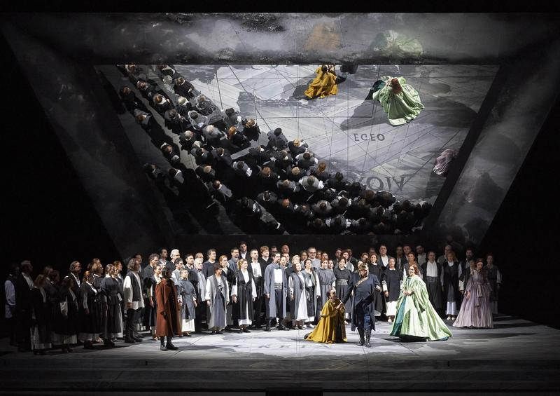 Mozart's 'domeneo' from the Vienna State Opera.