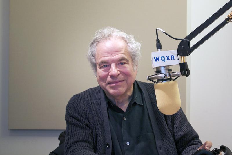 Izthak Perlman from a 2014 interview at the WQXR studios.