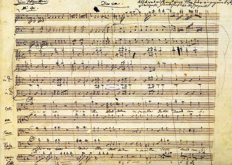 Autograph - K626: Requiem: Dies Irae