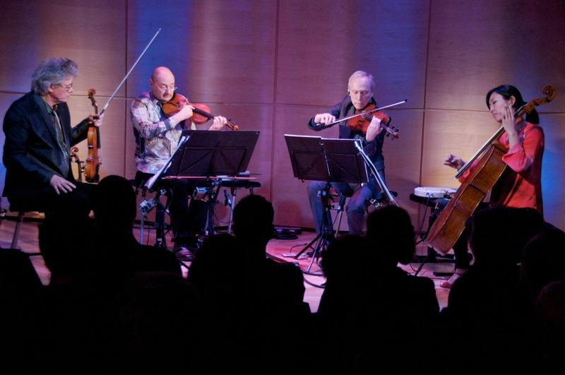 Kronos Quartet, seen here in The Greene Space, will hold the Carnegie Hall Creative Chair in 2015-16.
