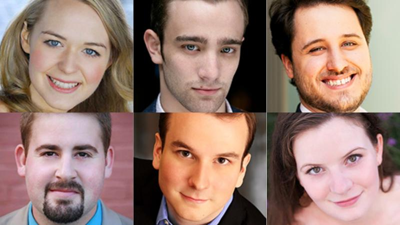 The six winners of L.A. Opera's Domingo-Colburn-Stein Young Artist Program auditions.
