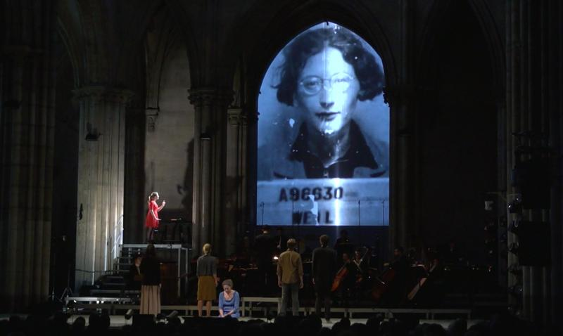 """La Passion de Simone"" on May 27, 2014 at the Basilica of St. Denis in Paris, Saint-Denis Music Festival"