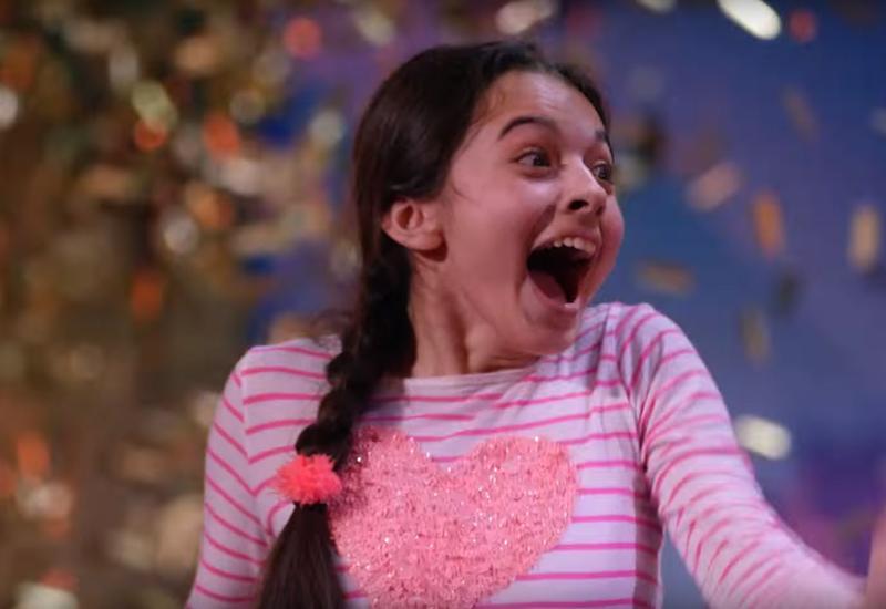 Laura Bretan, 13, performs 'Nessun Dorma' on 'America's Got Talent.'