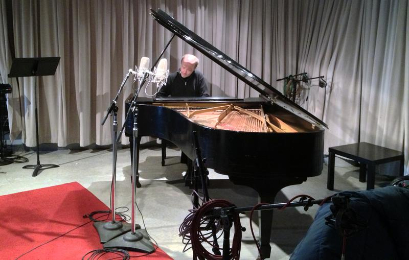 Pianist Marc-André Hamelin in the WQXR studio.