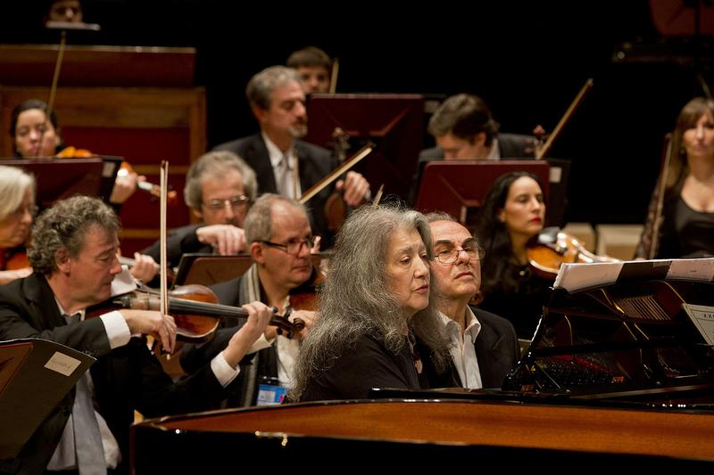 Pianist Martha Argerich performs in 2015.