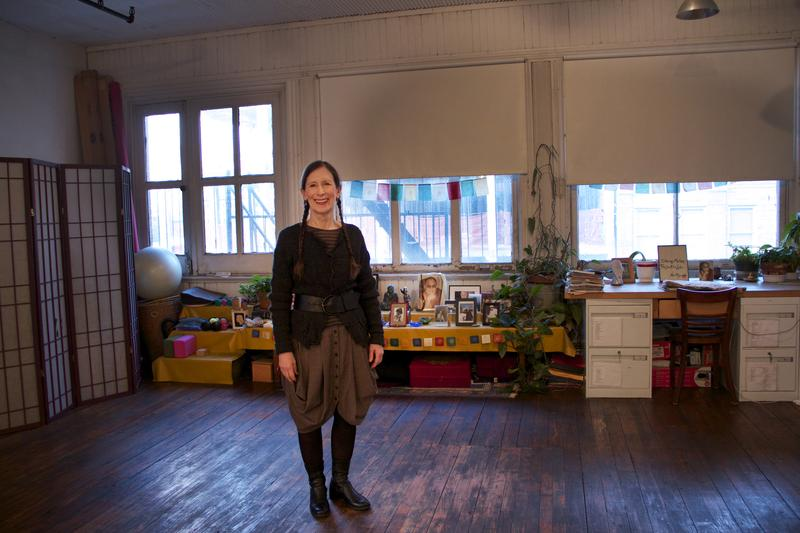 Meredith Monk in her Tribeca loft.