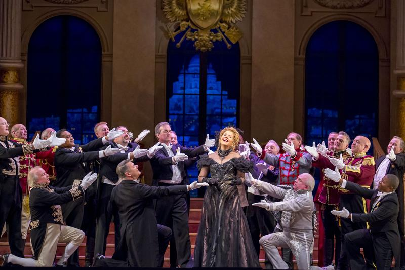 Renée Fleming stars in the Lyric Opera's 'The Merry Widow.'