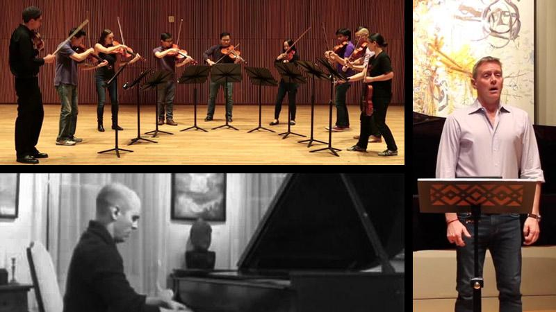 A pianist, singer and ensemble of nine violists round out our top 35 and older finalists.