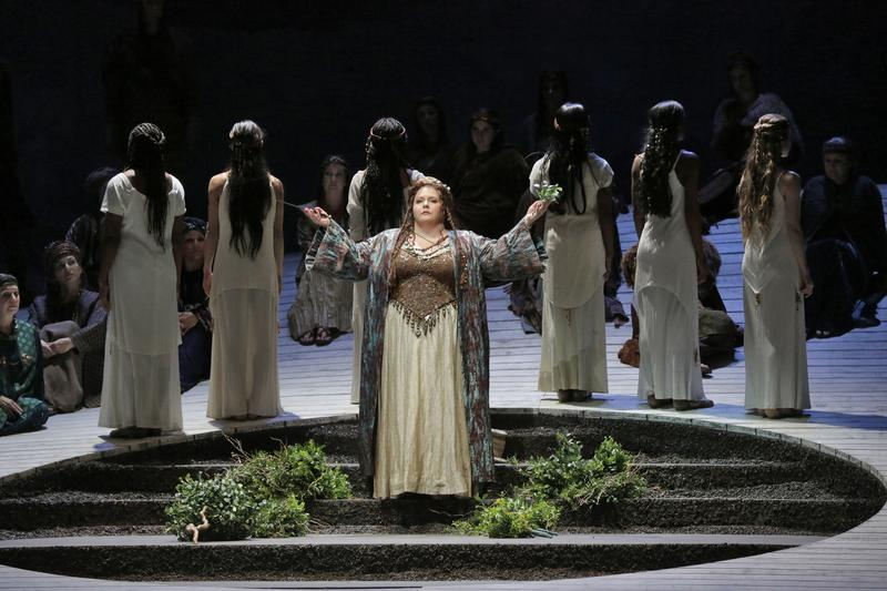 Angela Meade stars as title role in LA Opera's production of 'Norma.'