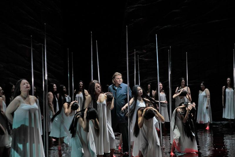 """A scene from Act II of Wagner's """"Parsifal"""" with Klaus Florian Vogt in the title role."""