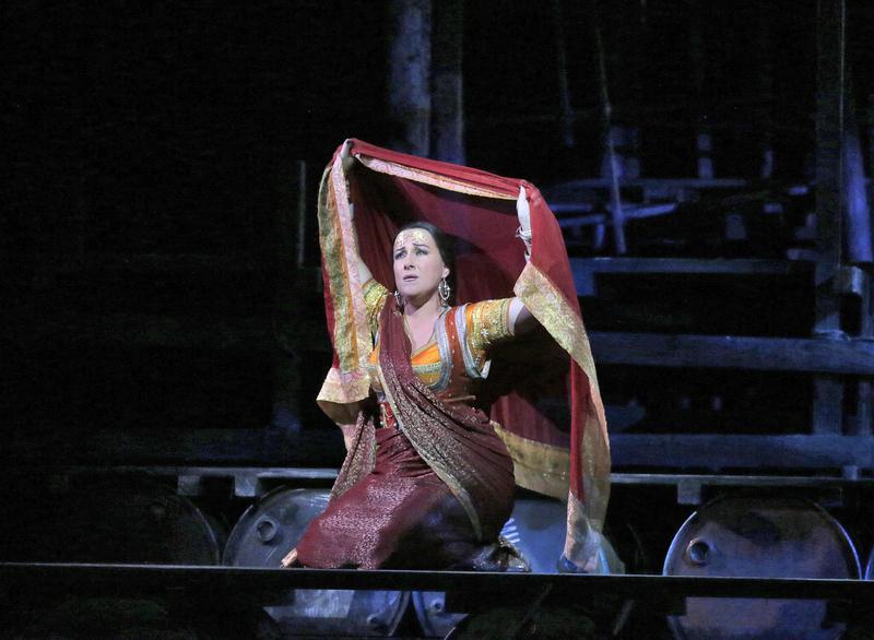 Diana Damrau as Leila in Bizet's Les Pêcheurs de Perles.