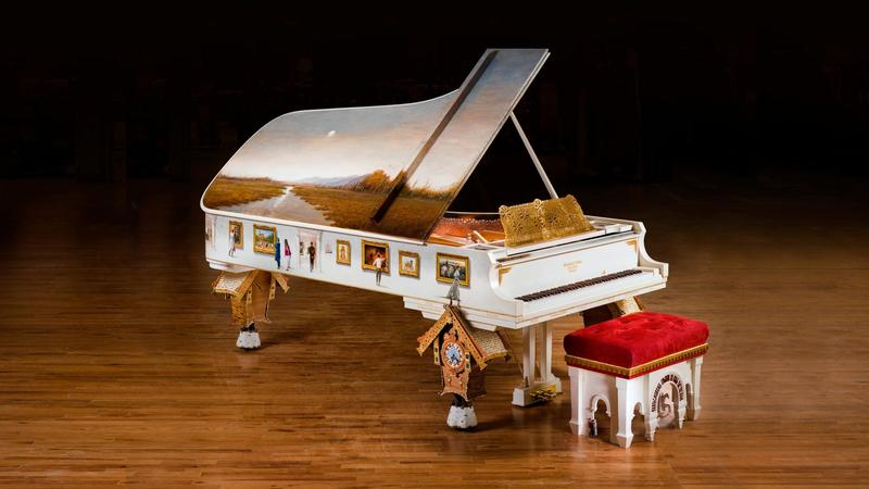 "Paul Wyse's ""Pictures at an Exhibition"" Piano."